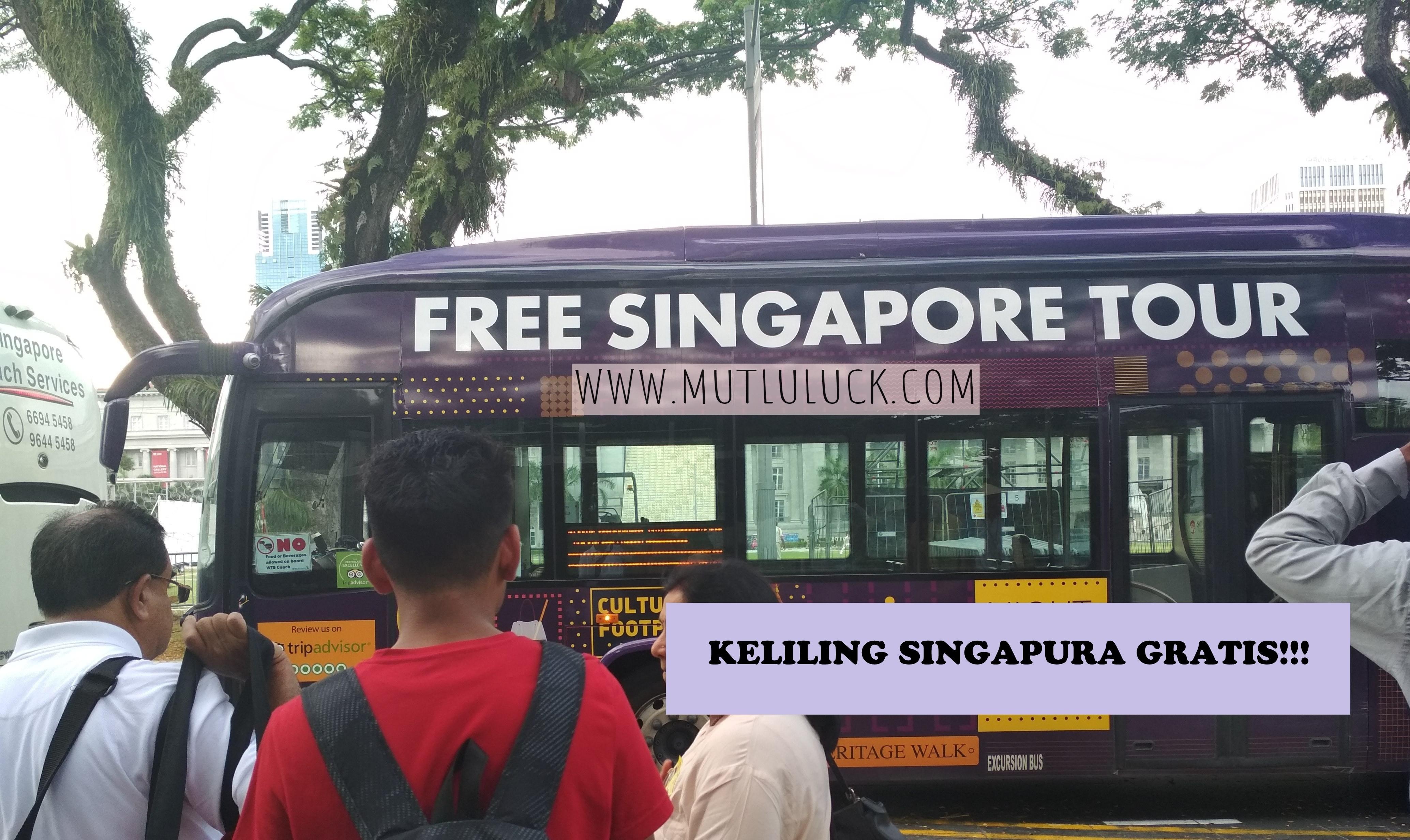 BOSAN TRANSIT LAMA DI SINGAPURA? IKUT FREE SINGAPORE TOUR AJA!