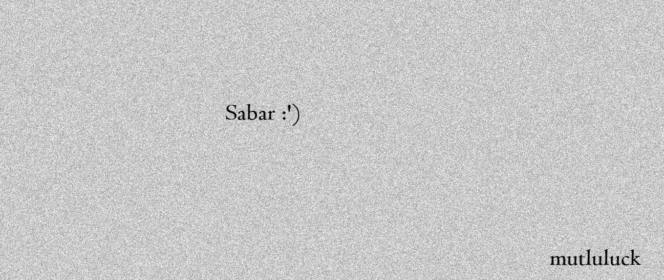 KUDU SABAAAARRRRRR :')