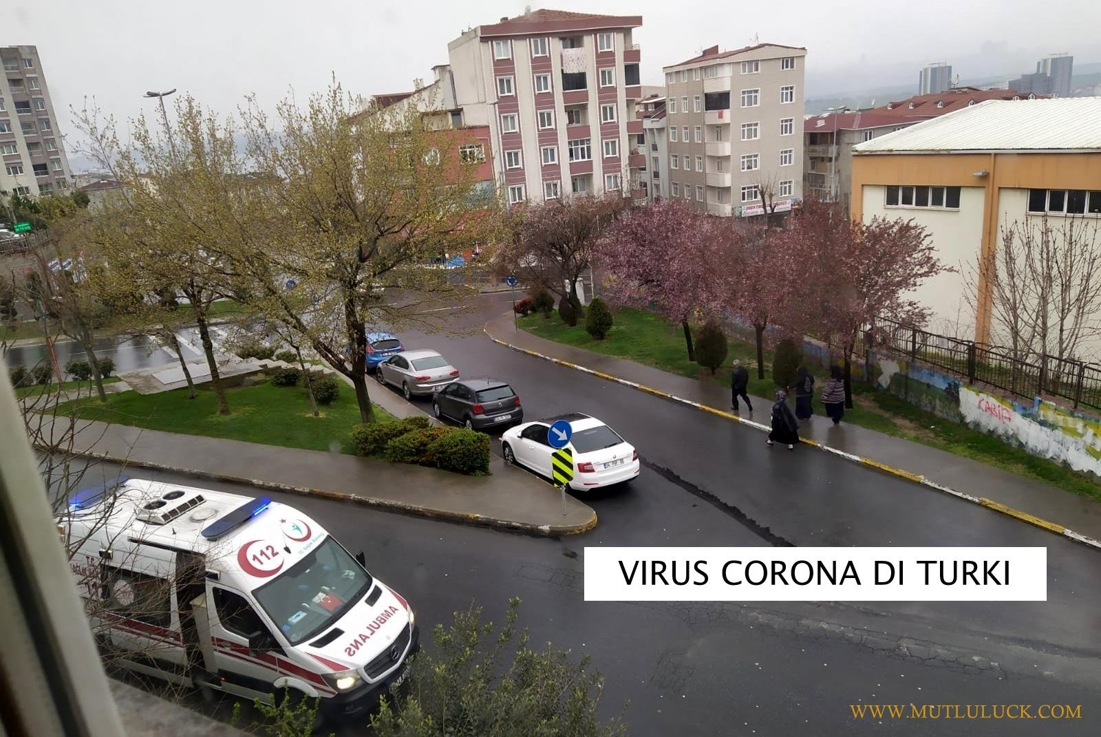 VIRUS CORONA DI TURKI, PENGGUNA TRANSPORTASI UMUM MENURUN