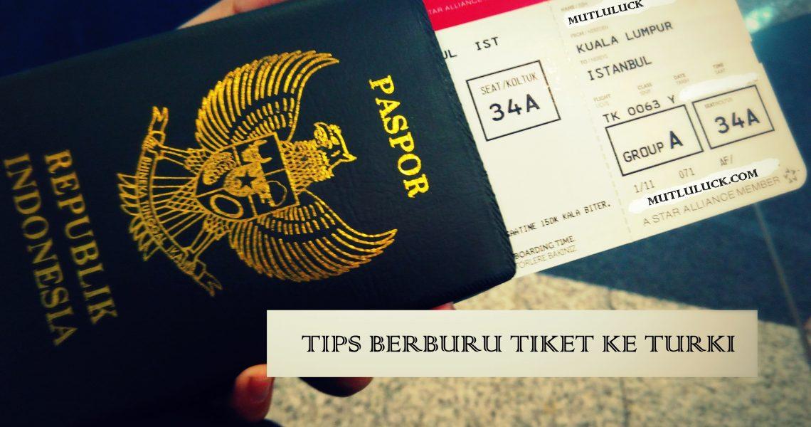 Ticket ke Turki